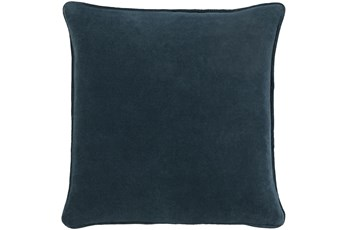 Accent Pillow-Navy Velvet 20X20