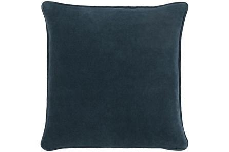 Accent Pillow-Navy Velvet 22X22 - Main