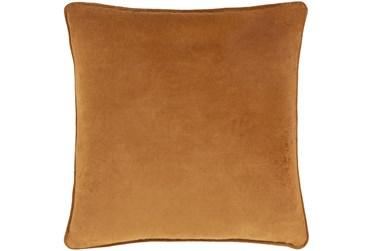 Accent Pillow-Burnt Orange Velvet 20X20
