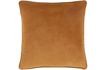 Accent Pillow-Burnt Orange Velvet 22X22