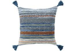 Accent Pillow-Mutlicolor Stripe Tassel 20X20