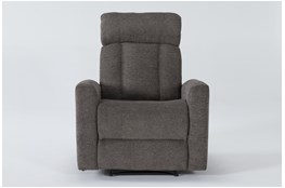 Halo II Grey Power Recliner With Power Headrest