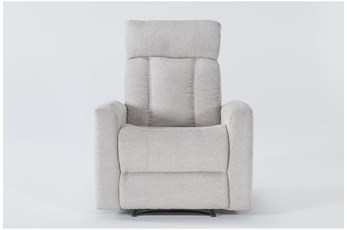 Halo II Buff Power Recliner With Power Headrest