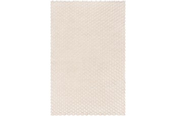 Accent Throw-Champagne Knitted Metallic