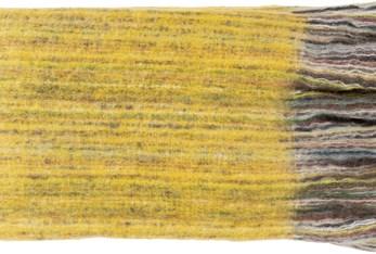 Accent Throw-Yellow Stripe
