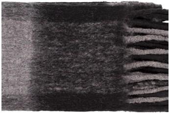Accent Throw-Grey Plaid Fringe