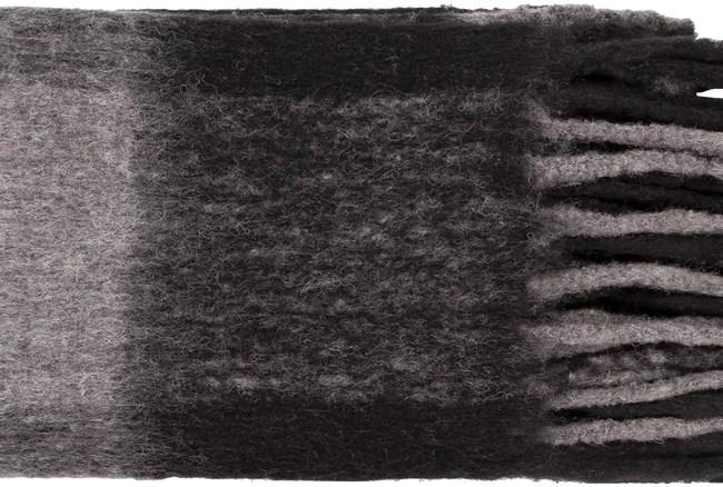 Accent Throw-Grey Plaid Fringe - 360