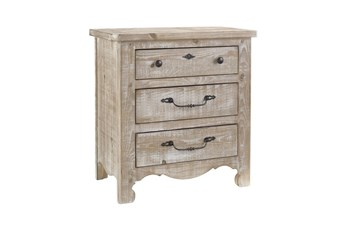 """Natural Rustic Cottage 29"""" Nightstand"""