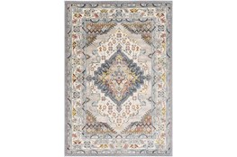 94X123 Rug-Traditional Multicolor