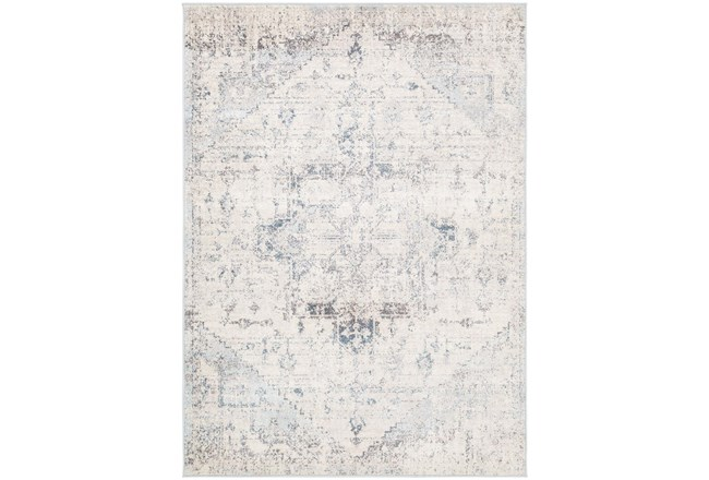 106X144 Rug-Traditional Pale Multicolor - 360