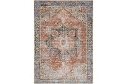 63X87 Rug-Traditional Distressed Multicolor