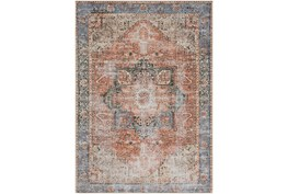 """5'3""""x7'3"""" Rug-Traditional Distressed Multicolor"""