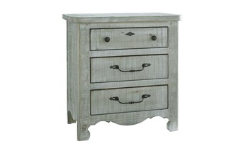 "Marine Rustic Cottage 29"" Nightstand"