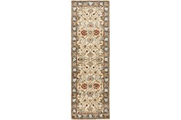 30X96 Rug-Traditional Multicolor