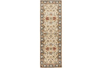36X144 Rug-Traditional Multicolor