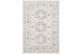 108X144 Rug-Global Muted Grey And Khaki