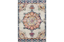 "5'3""x7'3"" Rug-Traditional Bright Multicolored"
