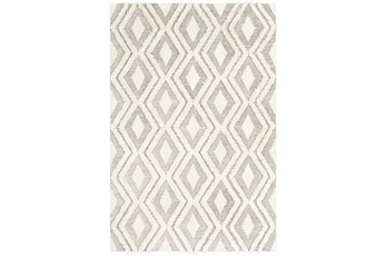 24X36 Rug-Global High/Low Diamond Camel/Cream