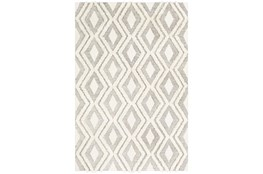 8'x10' Rug-Global High/Low Diamond Camel/Cream