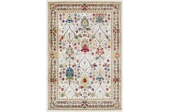 108X148 Rug-Traditional Multicolor