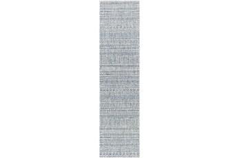 31X120 Rug-Global Denim Stripe