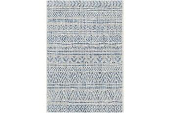 94X122 Rug-Global Denim Stripe