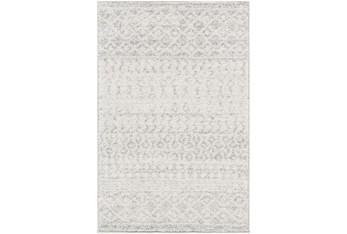 10'x14' Rug-Global Grey And White Stripe