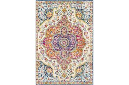 "5'3""x7'5"" Rug-Traditional Bright Multicolored"