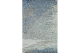 4'x6' Rug-Modern Blue Multicolored