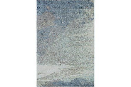 48X72 Rug-Modern Blue Multicolored - Main