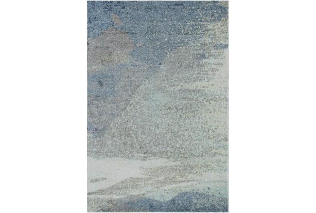 8'x10' Rug-Modern Blue Multicolored - 360