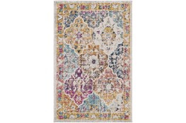 2'x3' Rug-Traditional Bold Multicolor