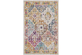 3'x5' Rug-Traditional Bold Multicolor