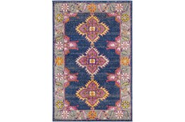 63X87 Rug-Traditional Bold Multicolor