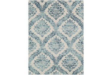 2'x3' Rug-Cottage Blue And Ivory