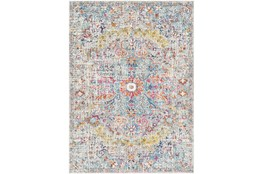 47X67 Rug-Traditional Blue/Multicolroed