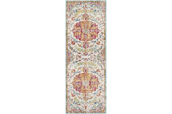 31X87 Rug-Traditional Multicolored