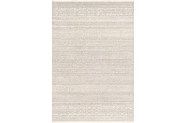 8'x10' Rug-Global Cream Striped