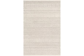 96X120 Rug-Global Cream Striped