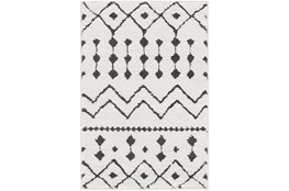 "7'8""x10'3"" Rug-Global Black And White"