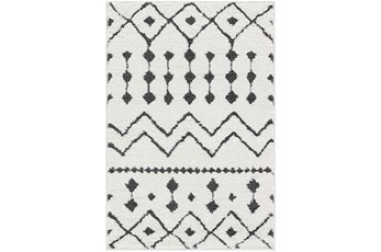 94X123 Rug-Global Black And White