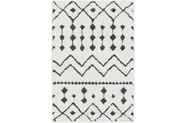106X144 Rug-Global Black And White