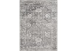"6'5""x6'5"" Square Rug-Traditional Grey"