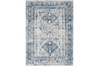47X67 Rug-Traditional Blue