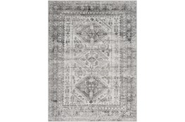"6'6""x9' Rug-Traditional Grey"