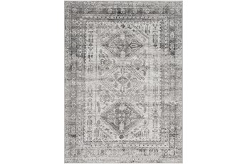 108X144 Rug-Traditional Grey
