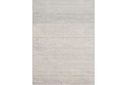2'x3' Rug-Global Muted Stripe Grey