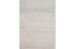 "4'3""x5'9"" Rug-Global Muted Stripe Grey"