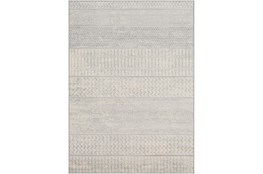 94X123 Rug-Global Muted Stripe Grey
