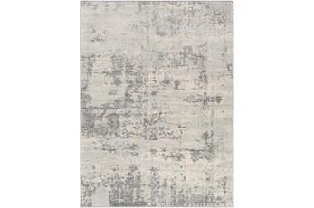 51X71 Rug-Modern Grey And Cream